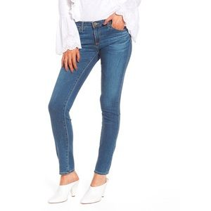 AG | The Stilt Cigarette Leg Skinny Mid Rise Jean